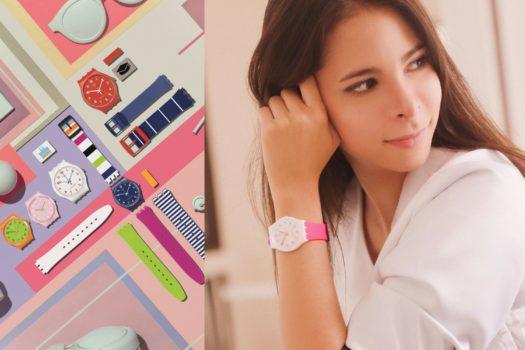 Ahora en Colombia SWATCH X YOU: Diseña tu propio reloj