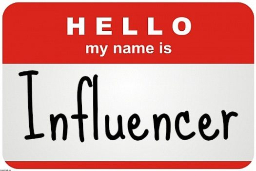 ¿Quieres ser un influencer? Por favor ponte serio…